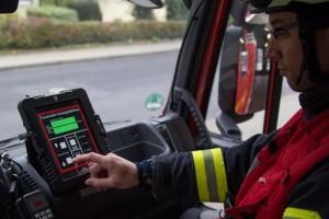 Case for iPad bei der Feuerwehr