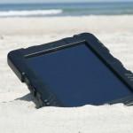 Case for iPad on the beach