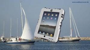 Segeln mit dem iPad im Case for iPad